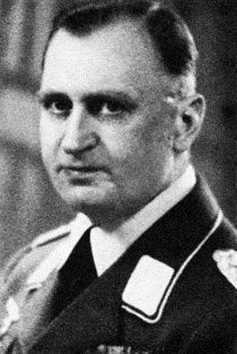 Командир 5-й зенитной бригады Макс Шаллер
