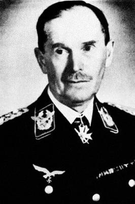 Инспектор зенитной артиллерии и местной ПВО Гюнтер Рюдель