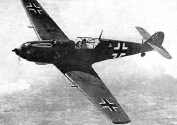 Me.109 в полете