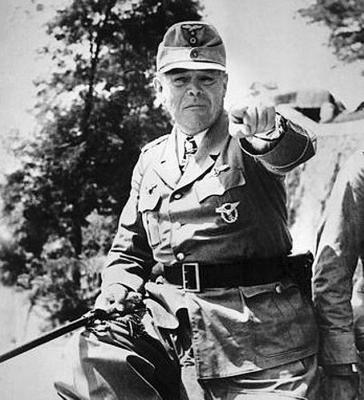 Главнокомандующий на Юге генерал-фельдмаршал Альберт Кессельринг