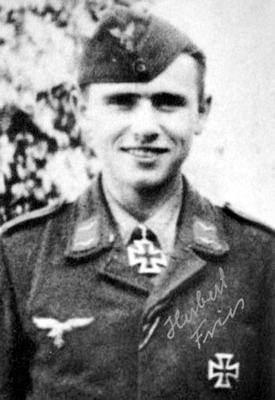 Кавалер Рыцарского креста, ефреётор 2-й роты 1-го парашютного противотанкового дивизиона Герберт Фрис