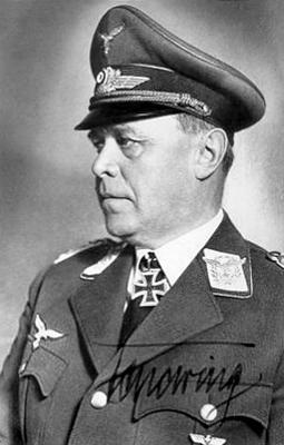 Командующий 1-м воздушным флотом Альберт Кессельринг
