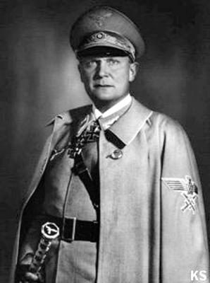Единственным рейхсмаршалом Великогерманского рейха был Герман Геринг