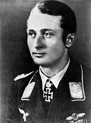 Кавалер Рыцарского креста с дубовыми листьями Йоханнес Штейнхоф