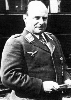 Начальник Технического управления Эрнст Удет