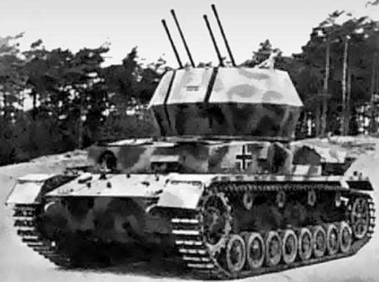 Самоходная зенитная установка «Вирбельвинд»