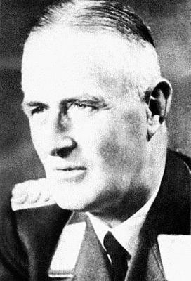 Генерал зенитной артиллерии Герхард Хоффман