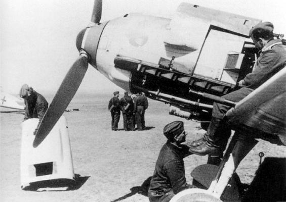 Самолет 3-й эскадрильи 2-й истребительной эскадры, 1940