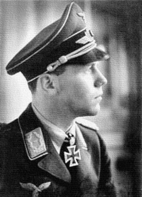Командир 1-й группы 2-й истребительной эскадры Гельмут Вик
