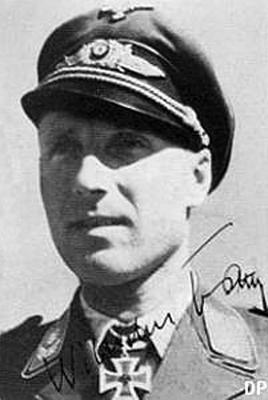 Командир 3-й группы 52-й истребительной эскадры Вильгельм Батц