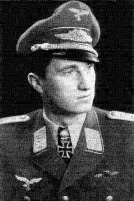 Командир 101-й истребительной эскадры Вальтер Новотны