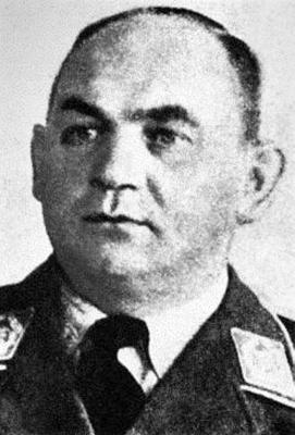 Командир 132-й истребительной эскадры Йохан Райтель