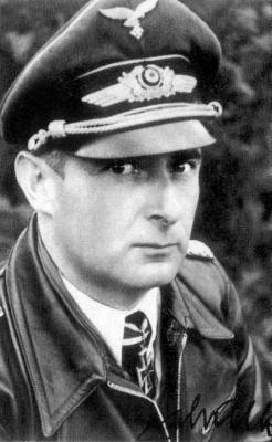 Командир 3-й группы 142-й истребительной эскадры Йоханнес Шалк