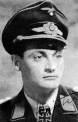 Командир 3-й группы 4-й эскадры ночных истребителей Людвиг Мейстер
