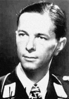 Командир 3-й группы 1-й эскадры пикирующих бомбардировщиков Гельмут Мальке