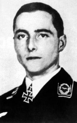 Командир 2-й группы 1-й учебной эскадры майор Гейнц Крамер