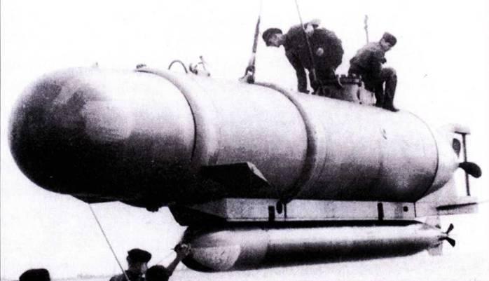 Немецкая сверхмалая подводная лодка типа XXVII A Hecht.