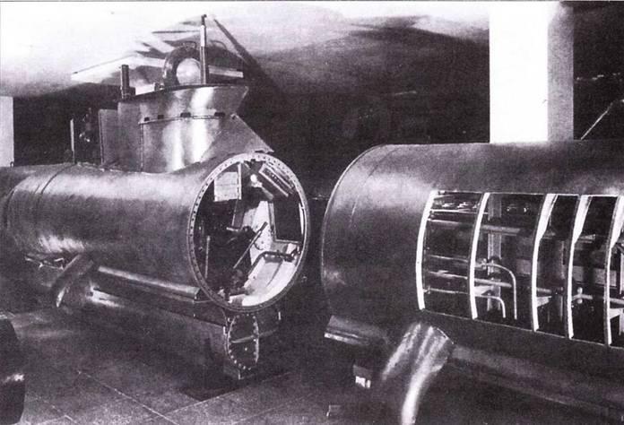Лодка Seehund в музее.
