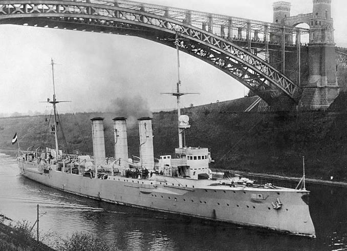 1.1. Развитие крейсеростроения. Влияние опыта русско-японской воины