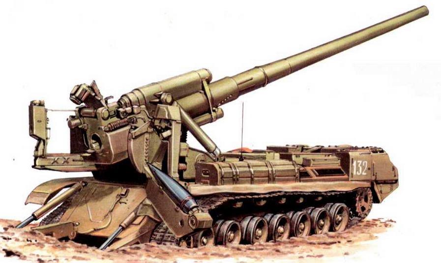 """Самоходная пушка 2С7 """"Пион"""". Артиллерийская бригада большой мощности, Забайкальский военный округ, 1992 год."""
