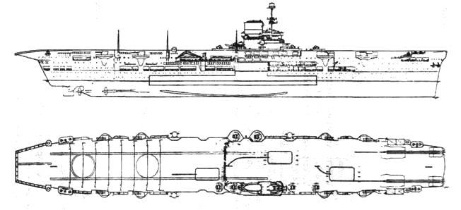 Авианосец «Арк Ройял»