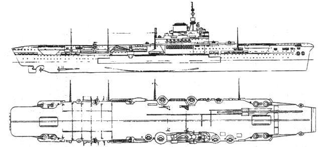 Авианосец «Илластриес»