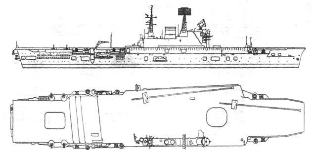 Ударный авианосец «Игл» после модернизации