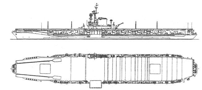 Большой авианосец «Мидуэй»
