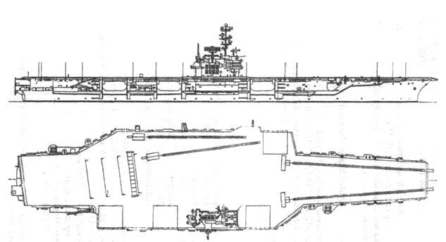 Ударный авианосец «Форрестол»