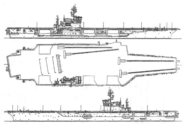 Ударный авианосец «Китти Хок»