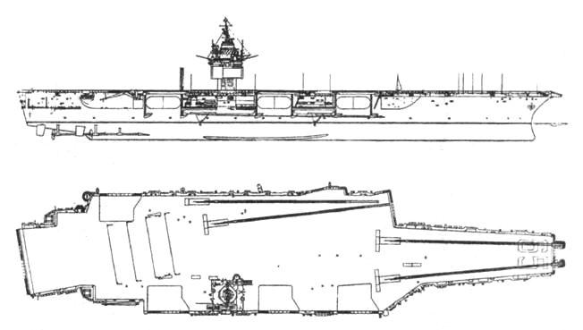 Атомный авианосец «Энтерпрайз»