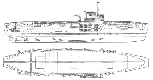 Авианосец «Беарн»