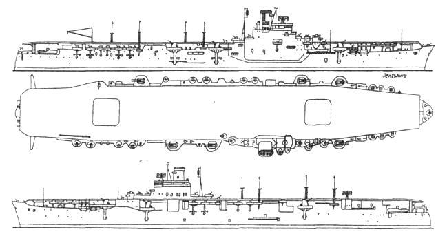 Авианосец «Дзуньё»