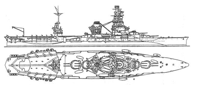 Линкор-авианосец «Исэ»