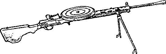 7,62-мм ручной пехотный пулемет Дегтярева образца 1927г.