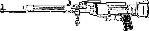 Авиационный пулемет ШKAC.