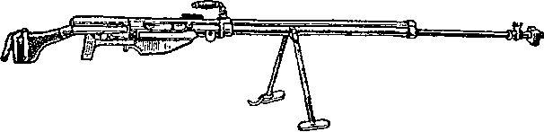 14,5-мм противотанковое ружье конструкции Симонова образца 1941г.