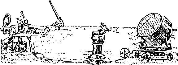 Автоматизированная установка ПВО предвоенного времени