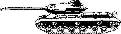 Танк прорыва ИС-2.