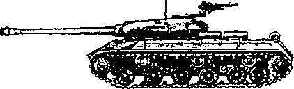 Тяжелый танк ИС-3.