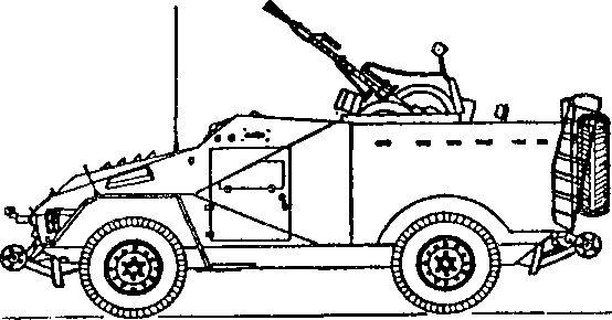 Советский бронеавтомобиль БТР-40А (жд) образца 1969г.