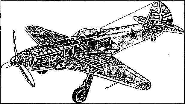 Советский истребитель Як-3. Именно на этих самолетах воевали французские летчики полка «Нормандия-Неман».