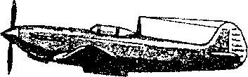 Советский истребитель Як-9.