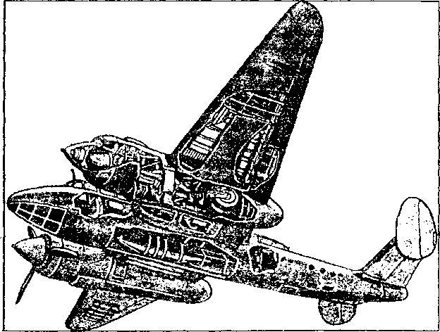 Пикирующий бомбардировщик Ту-2.