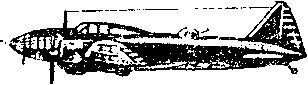 Бомбардировщик ДБ-ЗФ с форсированными двигателями.