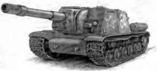 Самоходная артиллерийская установка СУ-52 — неприятный сюрприз для немцев