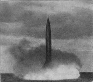 Стартует советская баллистическая ракета…