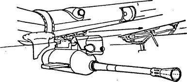 Подкрыльевая 37-мм пушка самолета Ю-87.