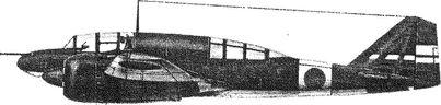 Японский тяжелый истребитель Ки.46.