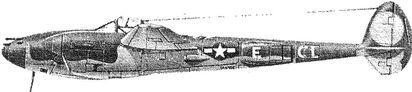Американский истребитель «Лайтнинг» Р-38.